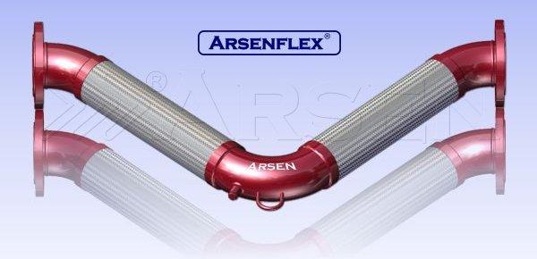 V flex seismic omega loop hose arsen
