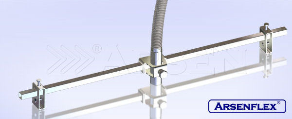 Fire Sprinkler Connection Hose without Braiding